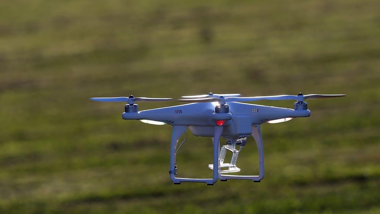 sciame di droni