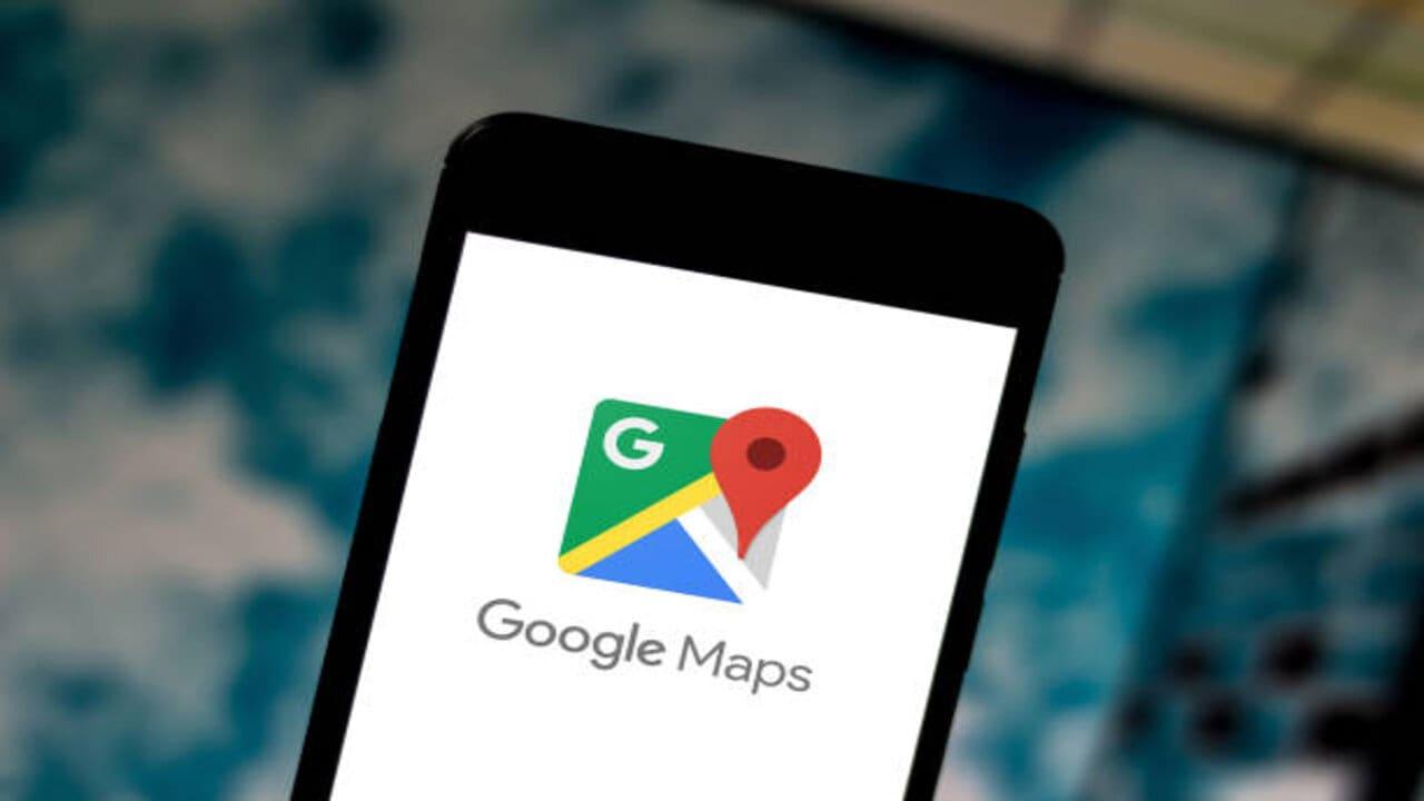 google maps bici