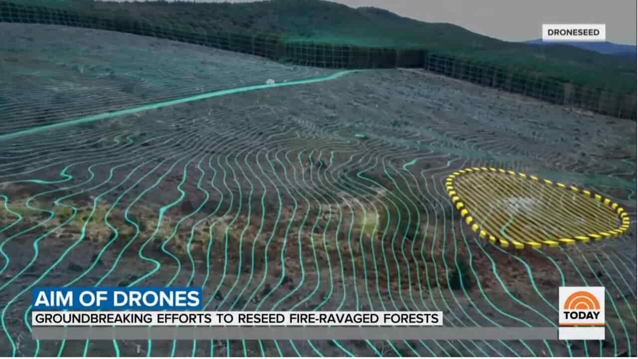 drone droneseed lidar