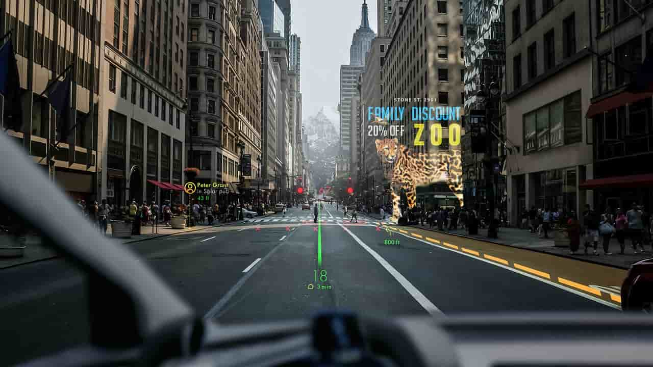 panasonic head-up display