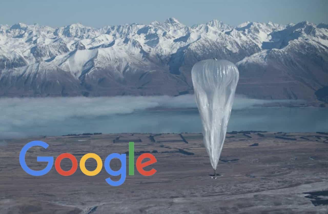 i palloni aerostatici di google per la connessione internet in zone remote
