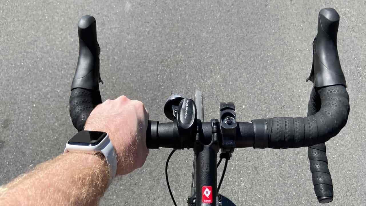 ciclista apple watch