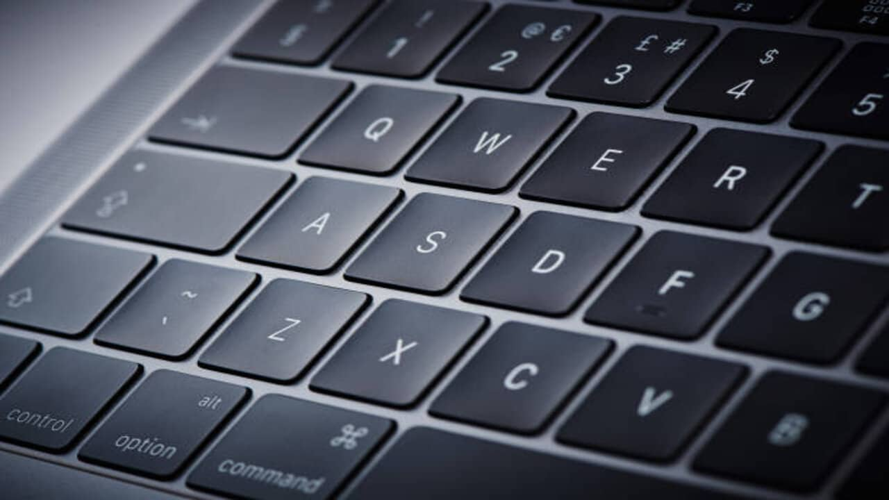 apple tastiera display tasto