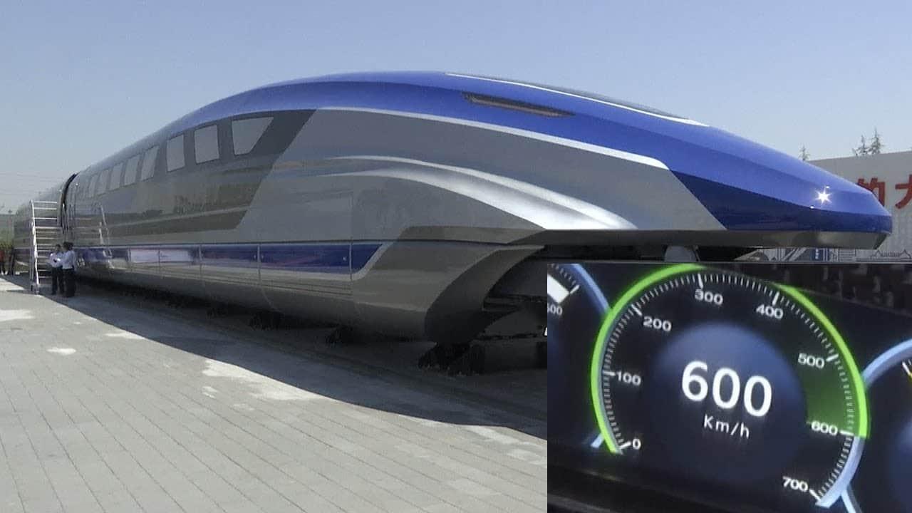 treno levitazione magnetica