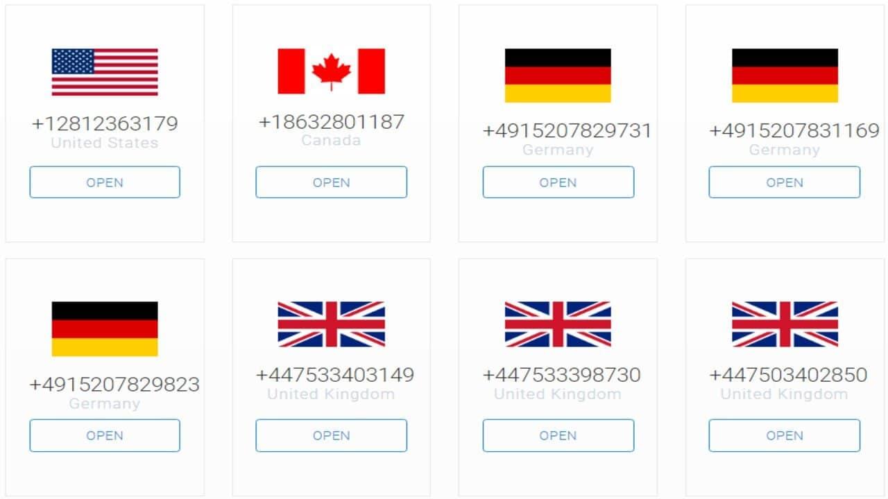 telegram numero virtuale