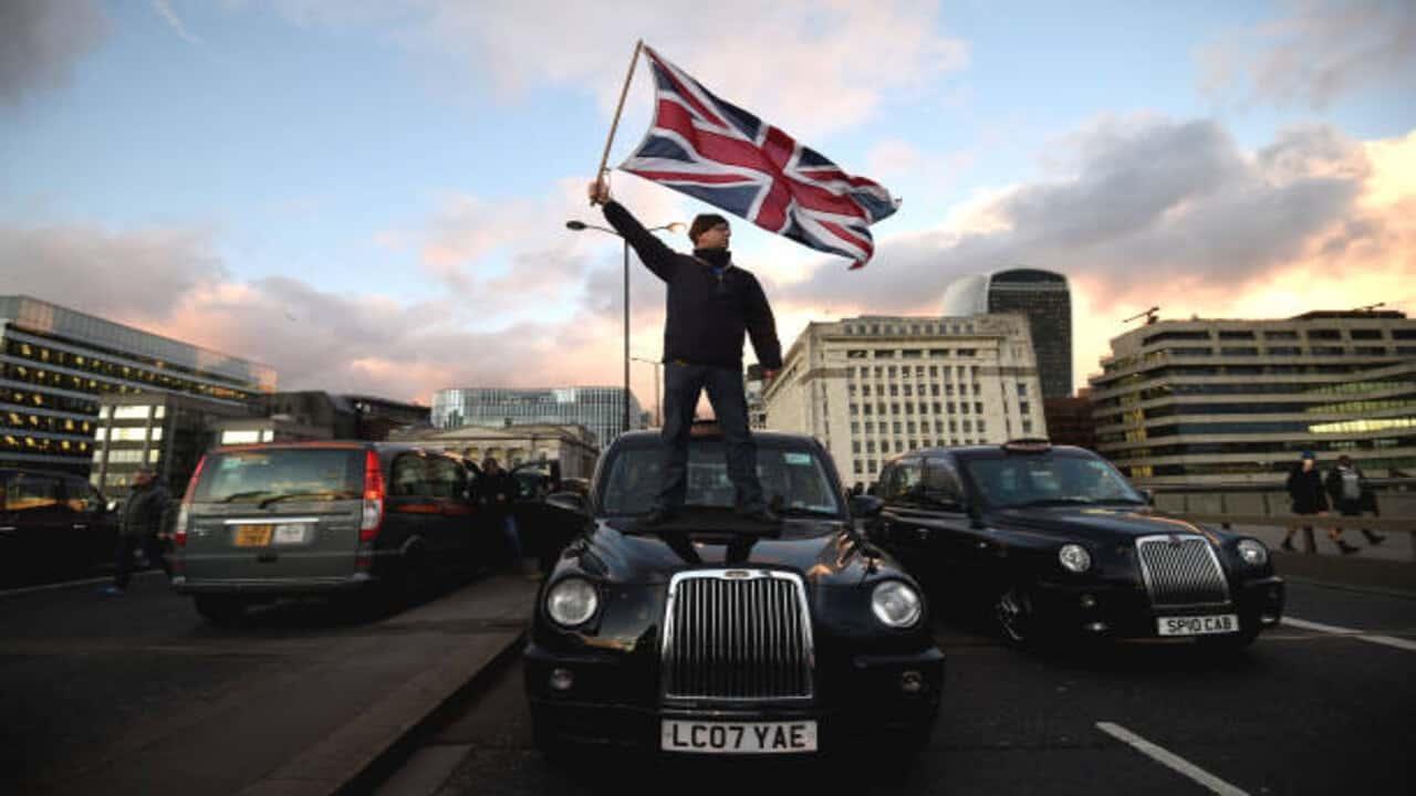 uber tassisti londinesi
