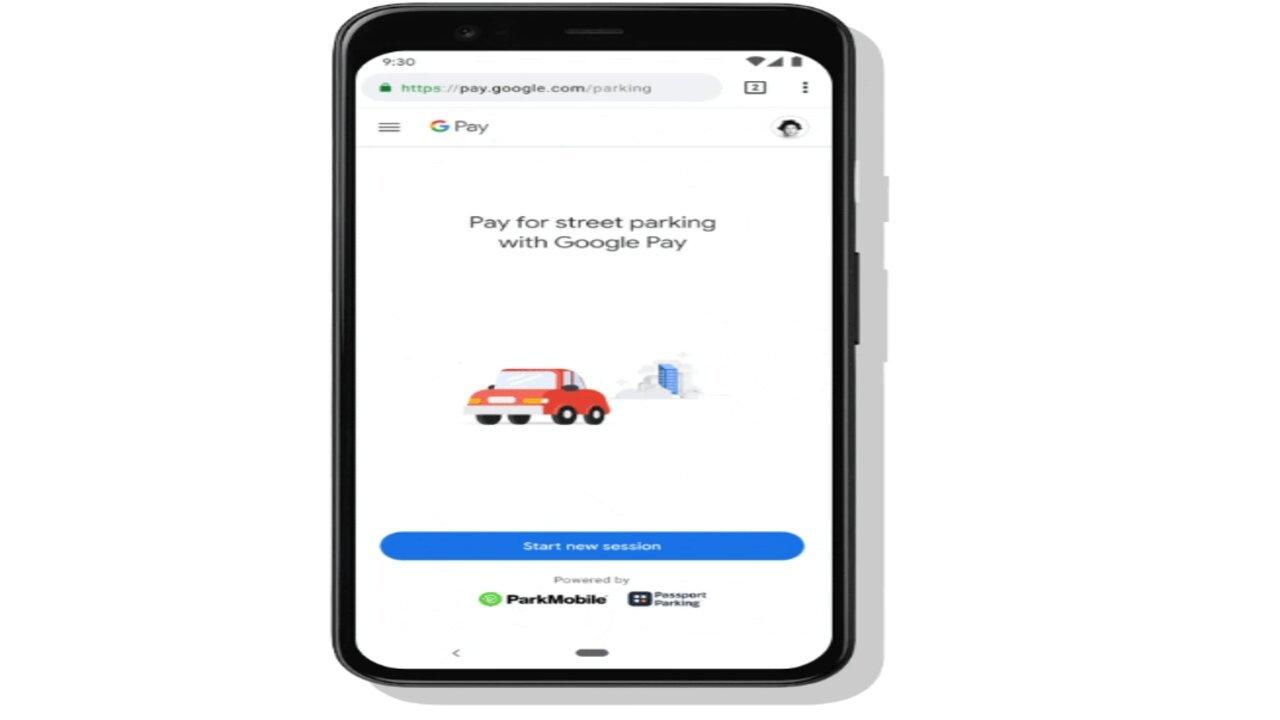 google maps parcheggi
