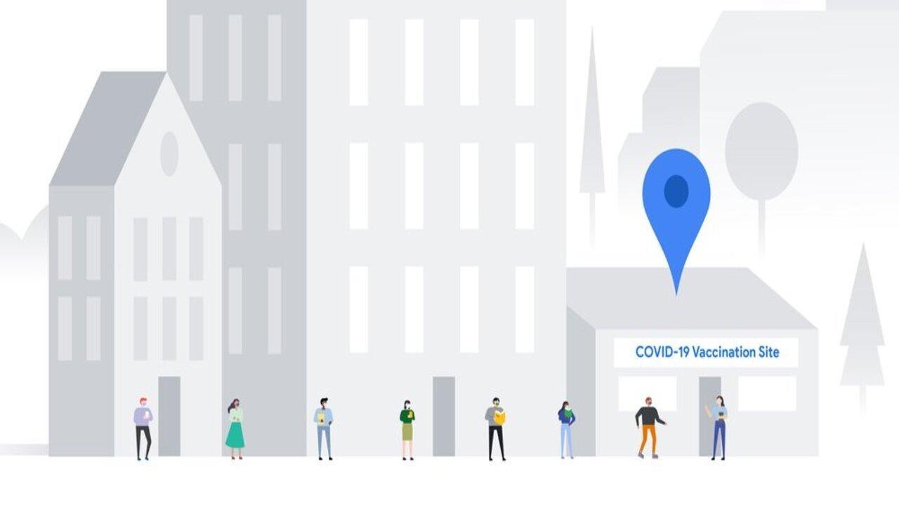 google maps vaccino covid-19