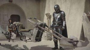 Un fotogramma della prima stagione di The Mandalor