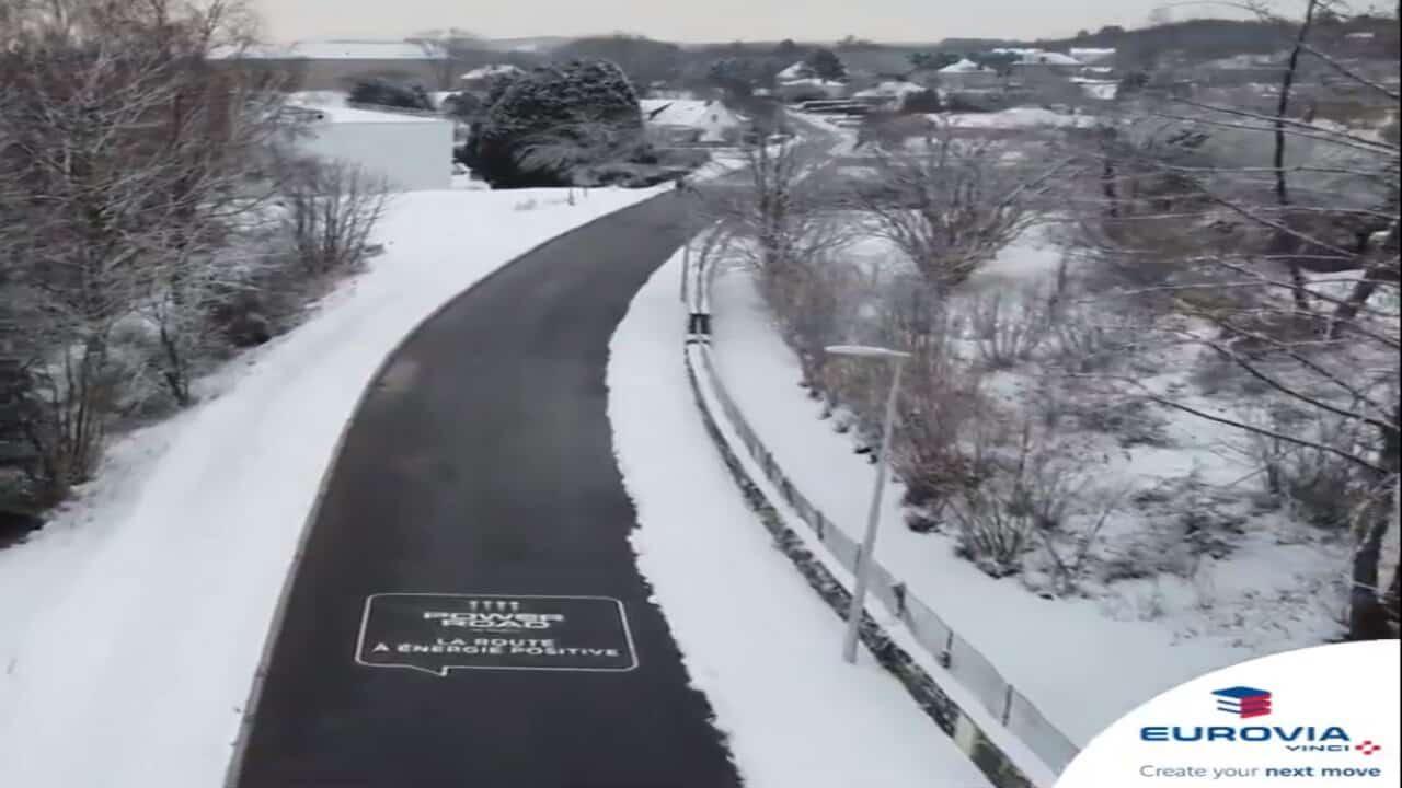 asfalto che non ghiaccia