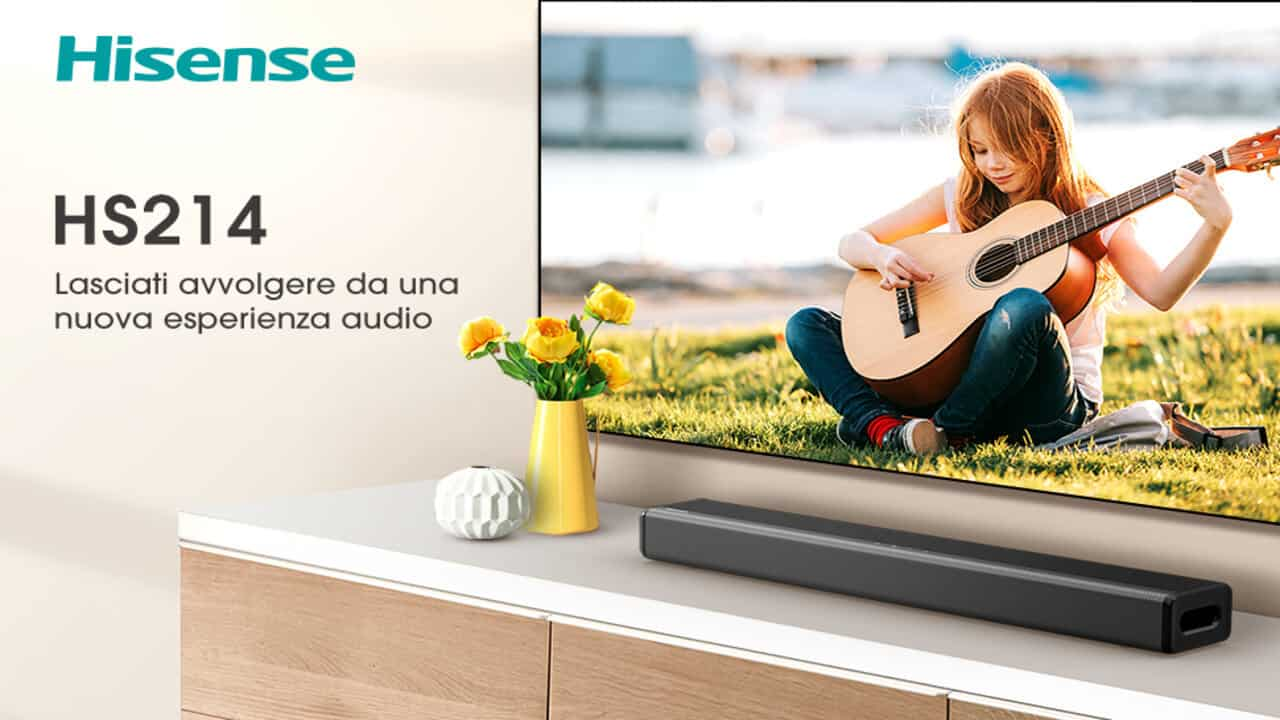 soundbar hisense hs214