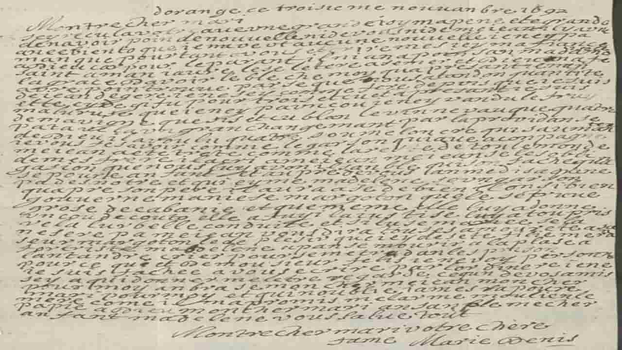 lettera 1697 raggi x