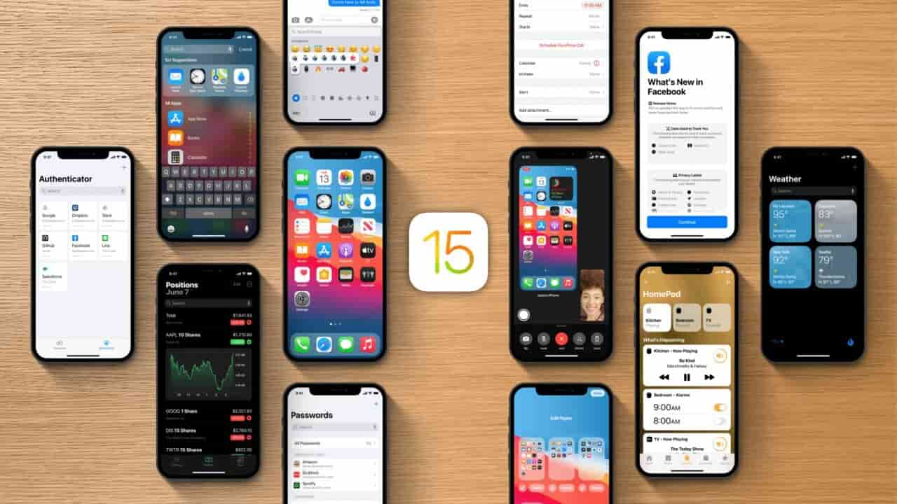 ios 15 apple