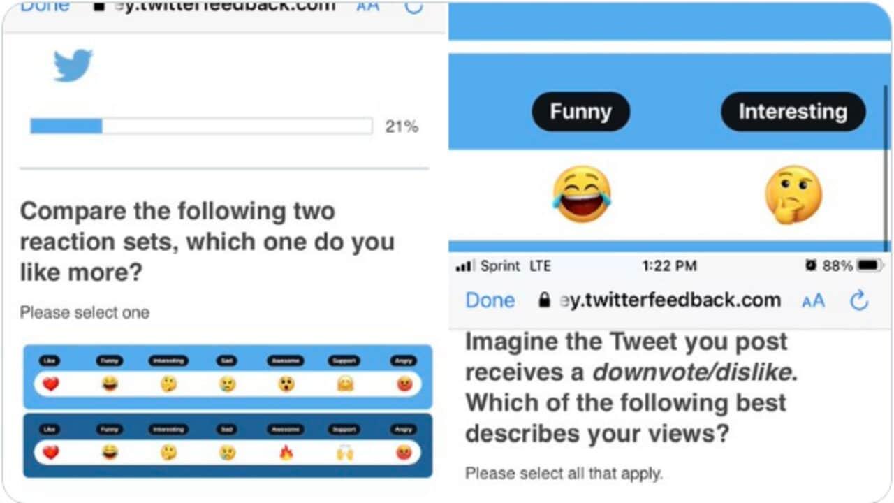 twitter emoji reazioni tweet