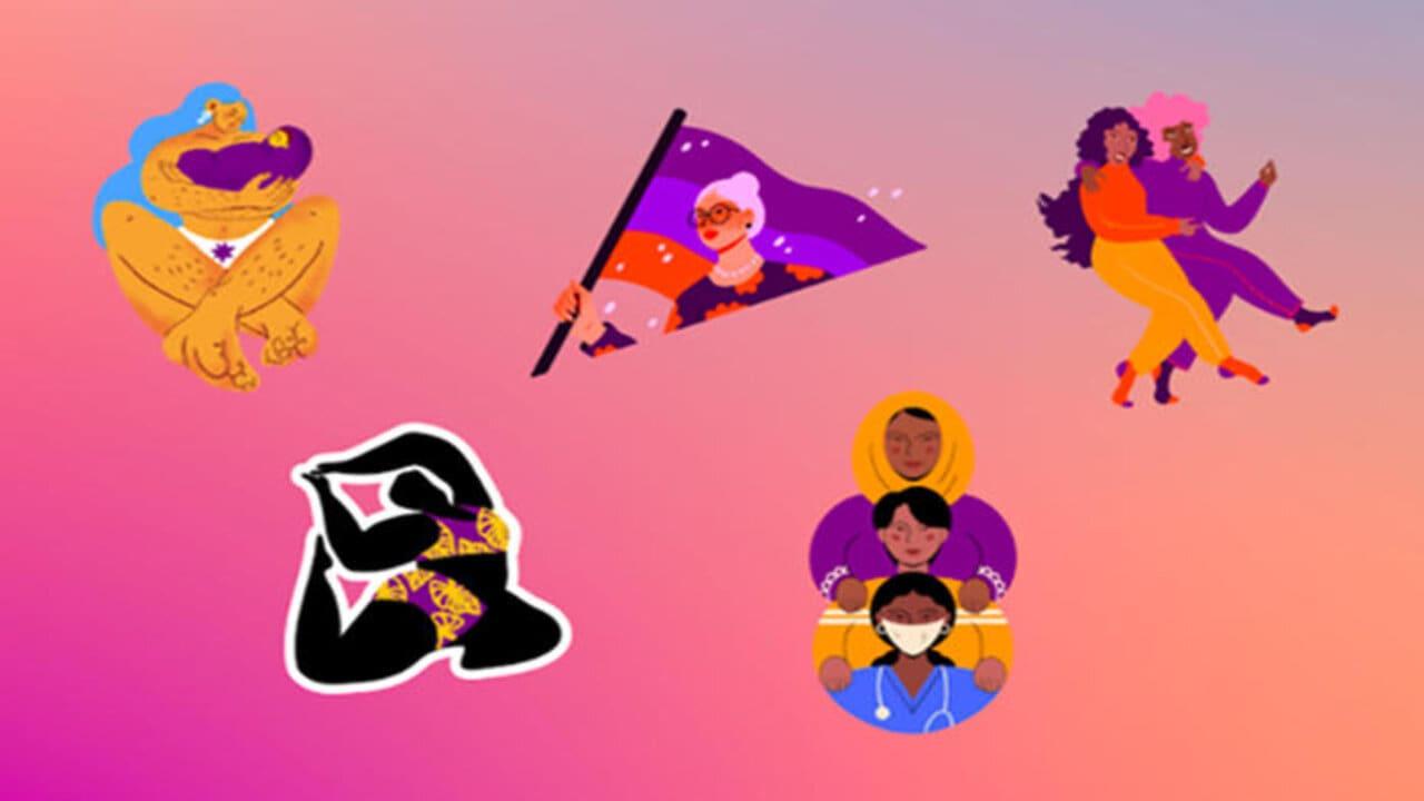 facebook sticker festa donna