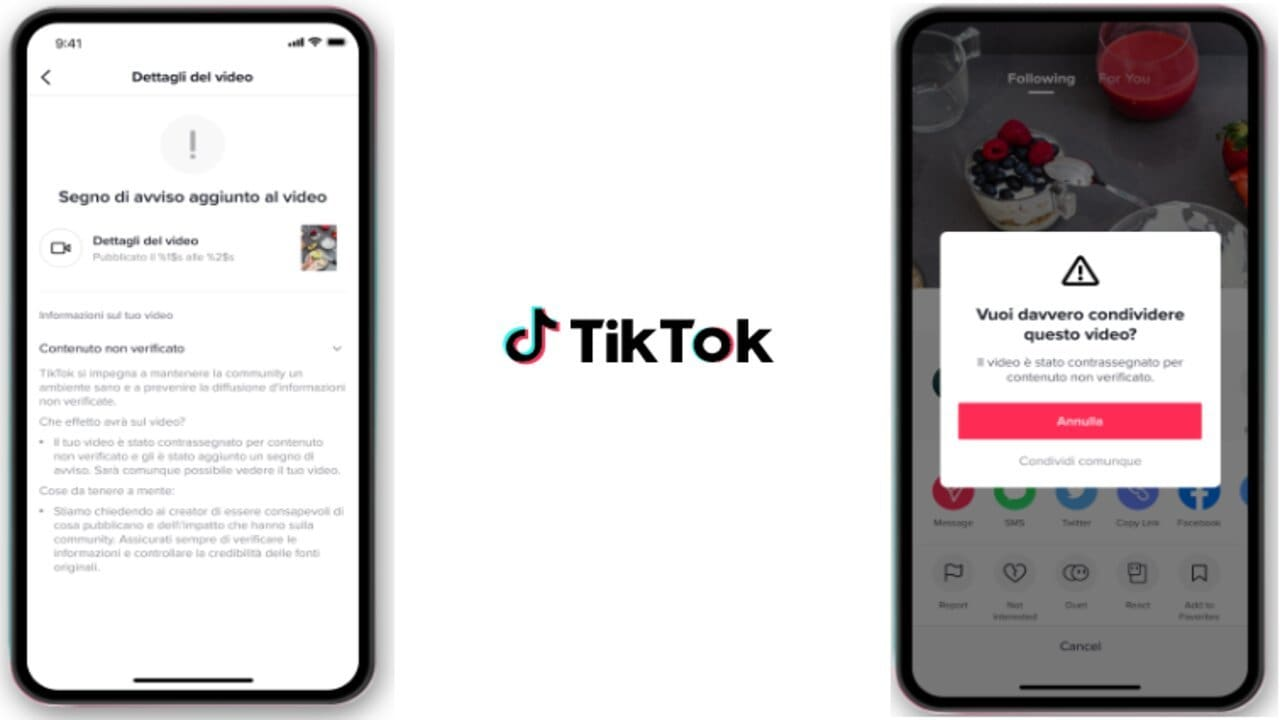 tiktok banner anti-fake