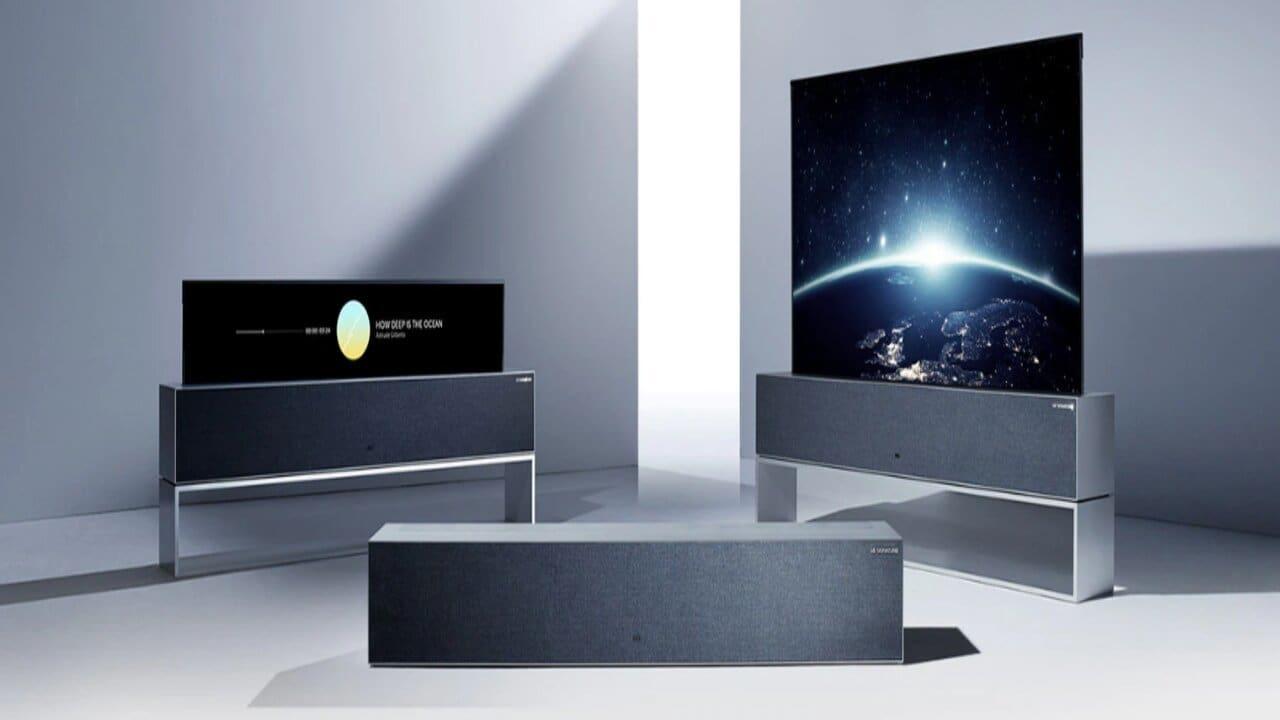lg tv arrotolabile 100.000 euro