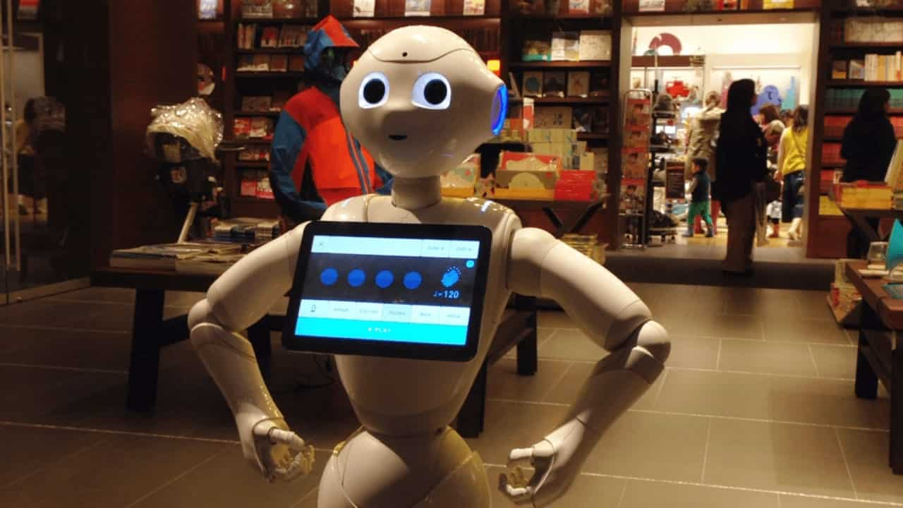robot italia pensa a voce alta