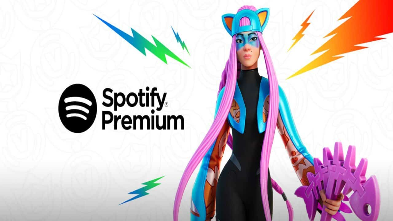 fortnite spotify premium