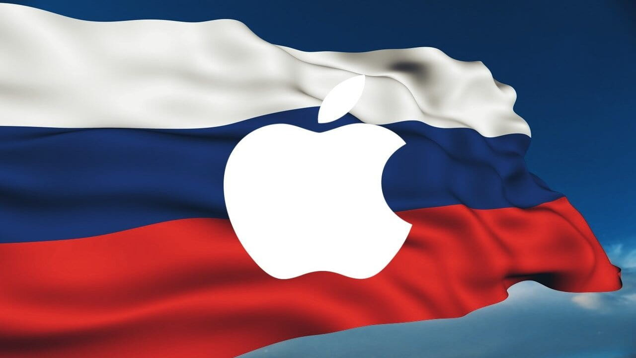 russia apple