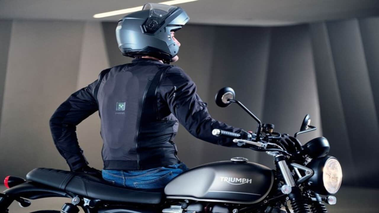 airscud airbag moto