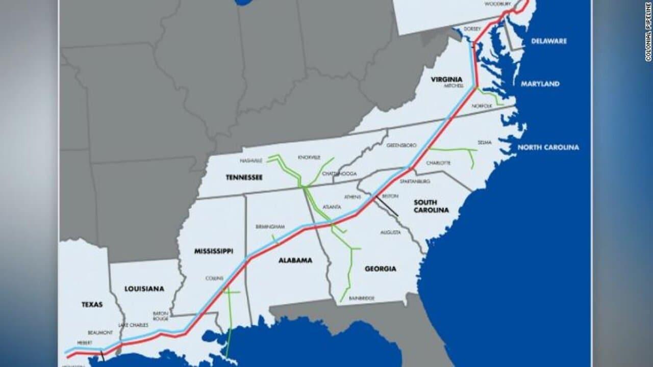 cyber attacco colonial pipeline