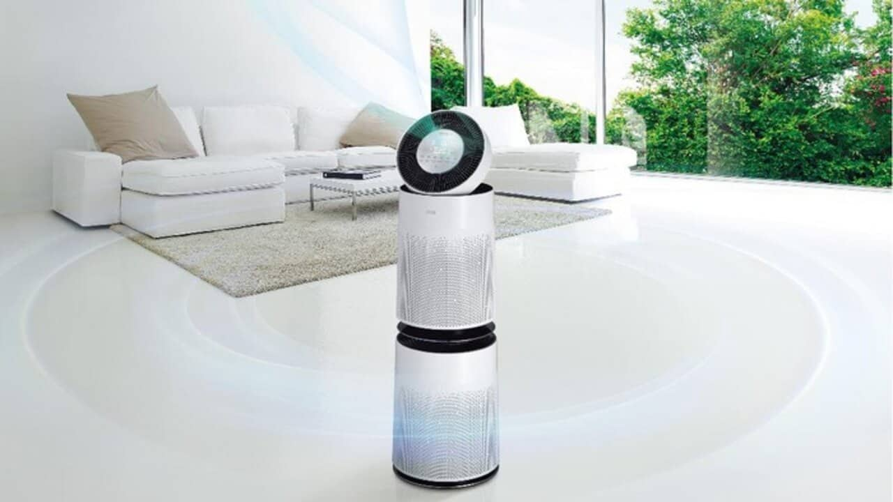 lg puricare 360 purificatore