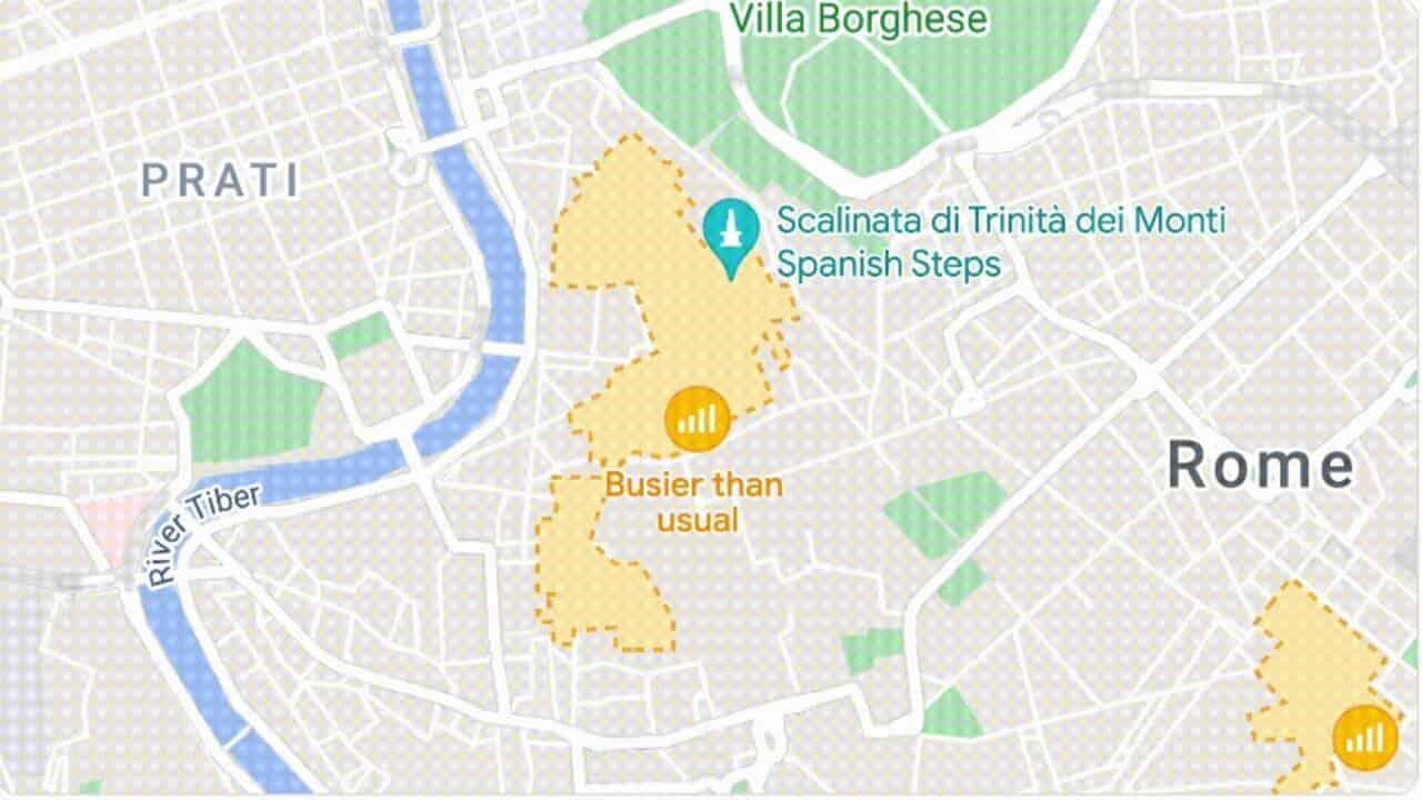 google maps mappe