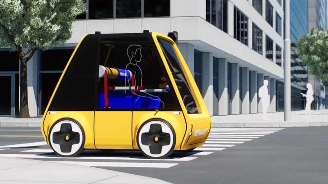 Höga auto elettrica ikea