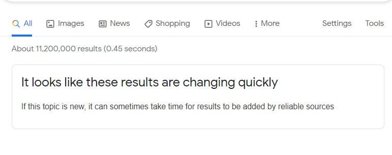google risultati attendibili