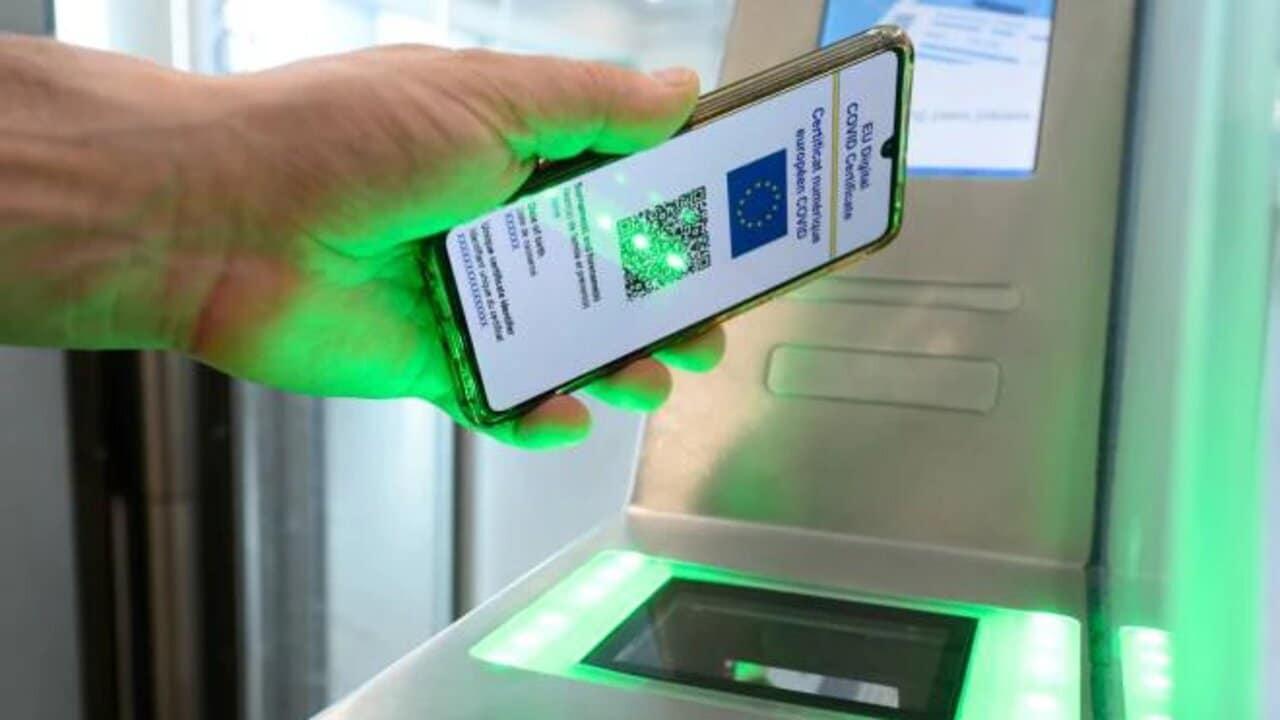 whatsapp messaggio green pass