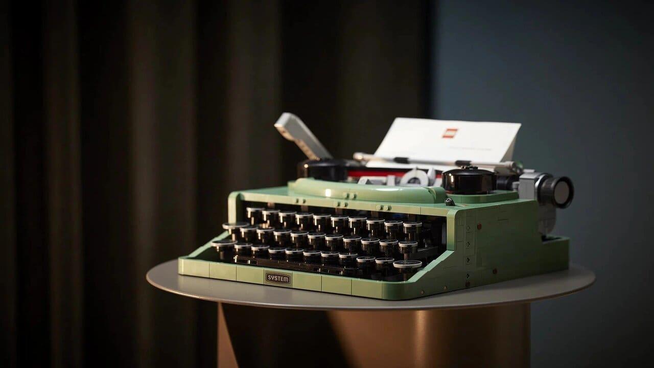 lego macchina da scrivere