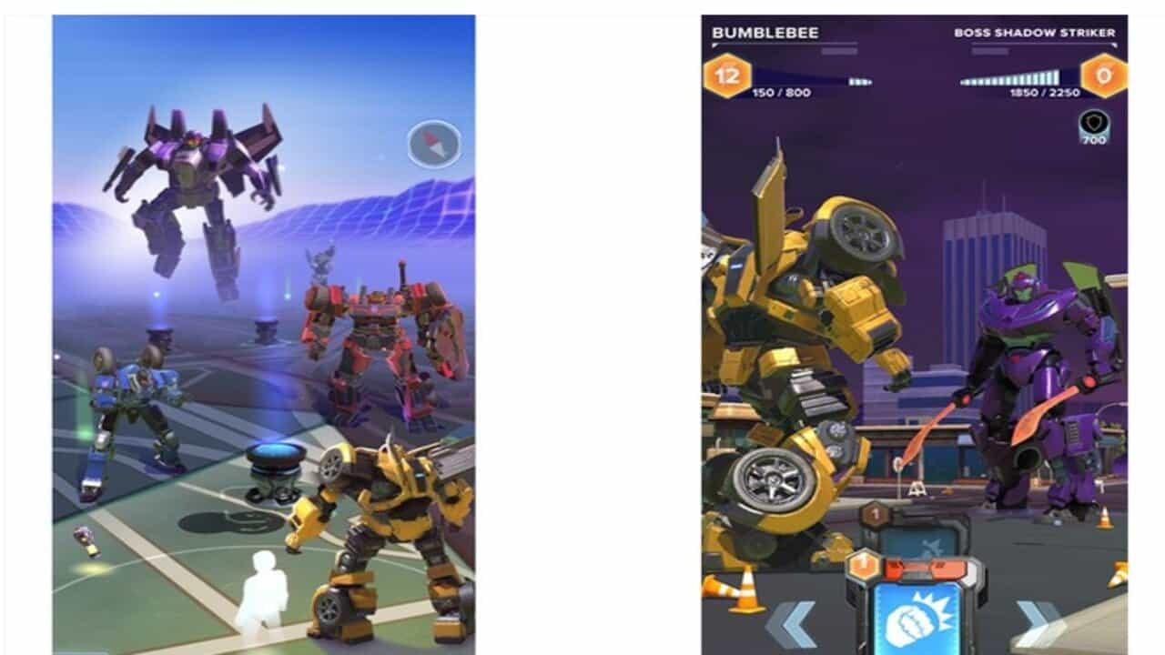 transformers videogioco realtà aumentata
