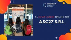 ASC27, una startup romana nata in pieno lockdown - MeteoWeek.com