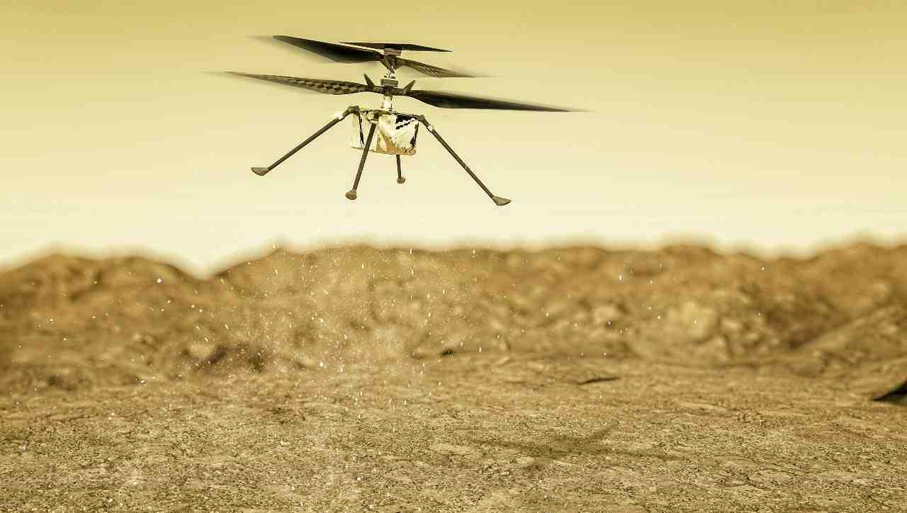 Ingenuity, l'elicottero della NASA su Marte - MeteoWeek.com