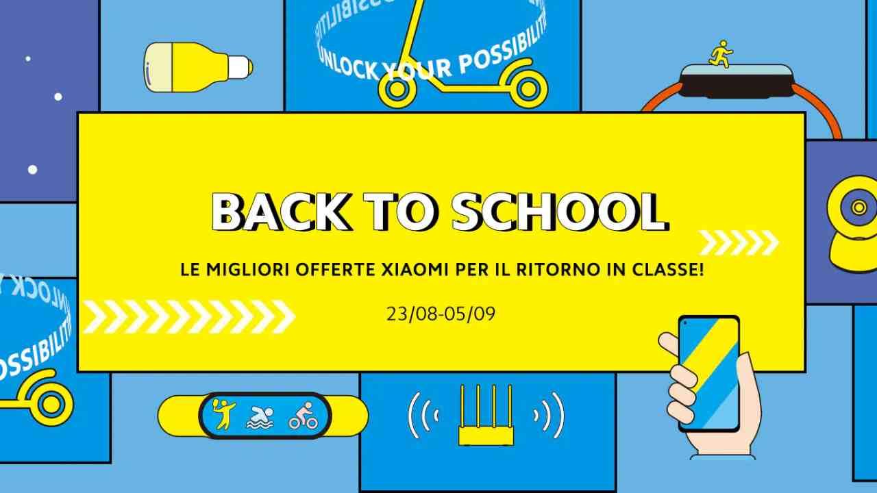 """""""Back to School"""" di Xiaomi offre dagli Smartphone alla domotica a prezzi incredibili"""