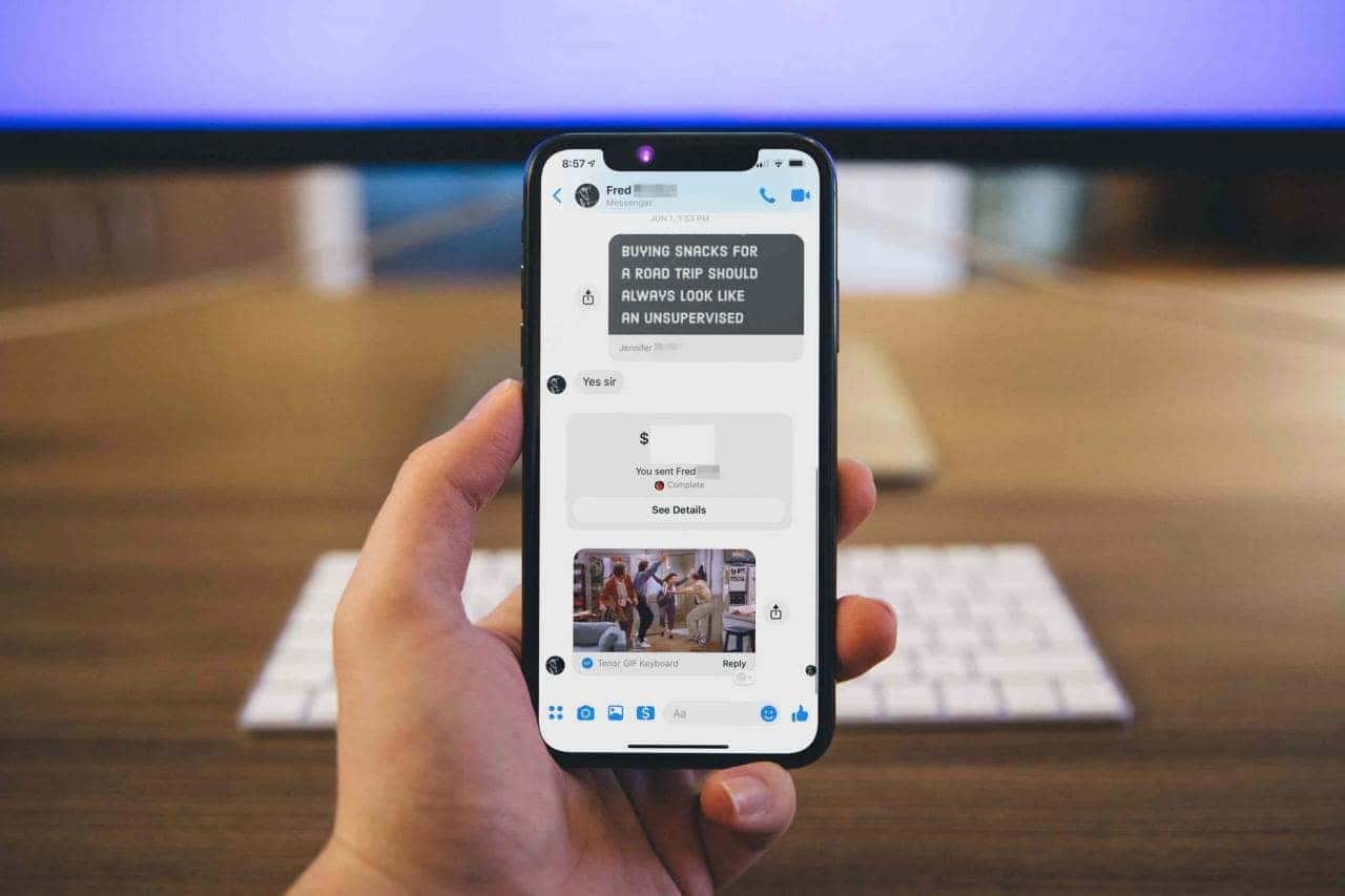 App Messenger su smartphone
