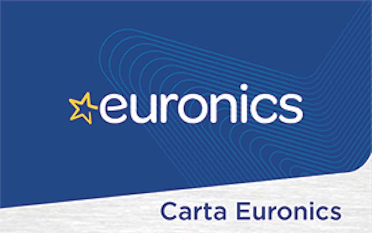 un tac-simile della carta fedeltà di Euronics