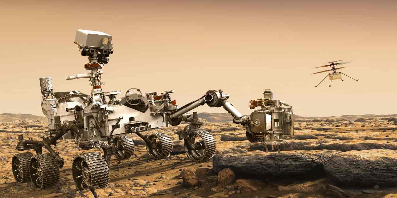 Perseverance e Ingenuity alla scoperta di Marte - MeteoWeek.com