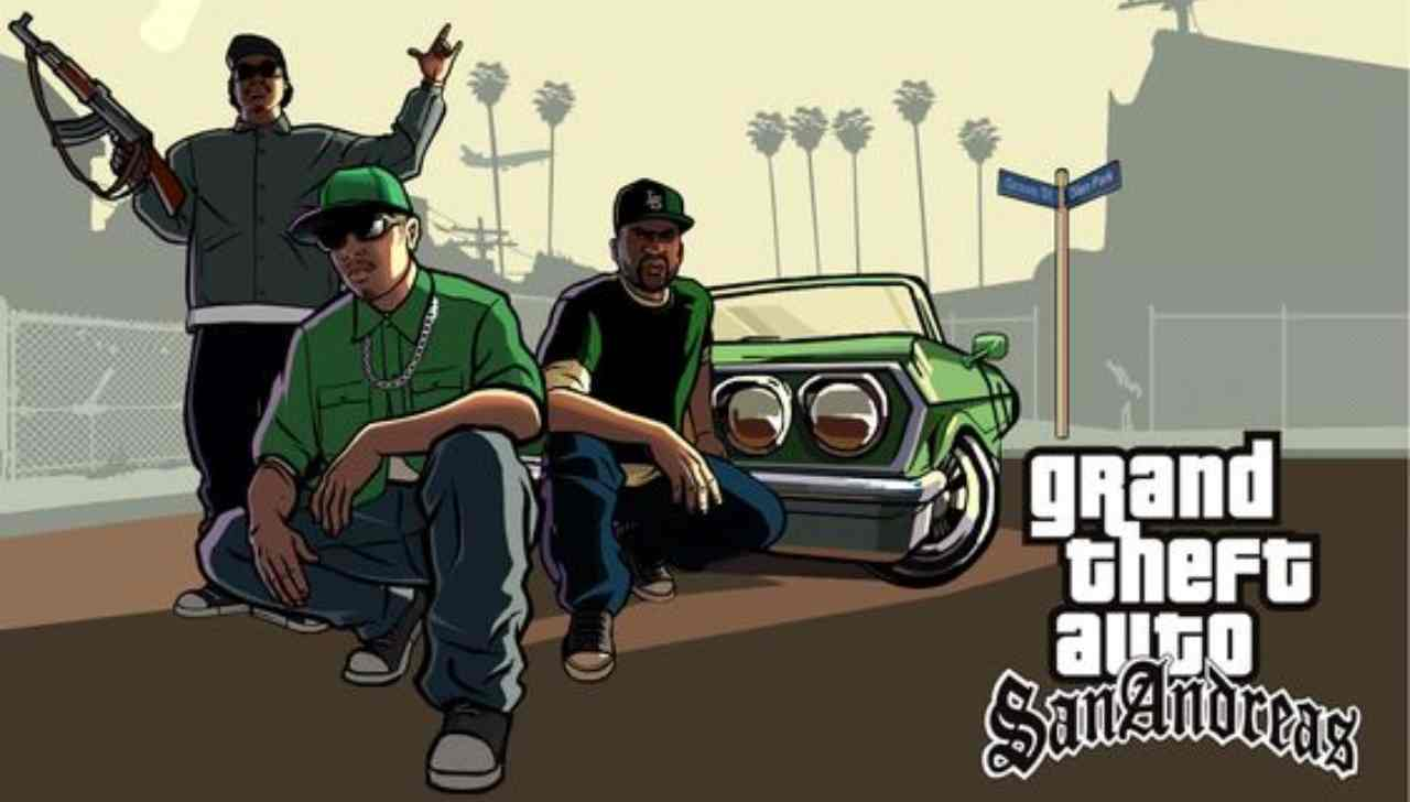 Per i nostalgici è possibile rivivere GTA San Andreas, che diventa un next generation