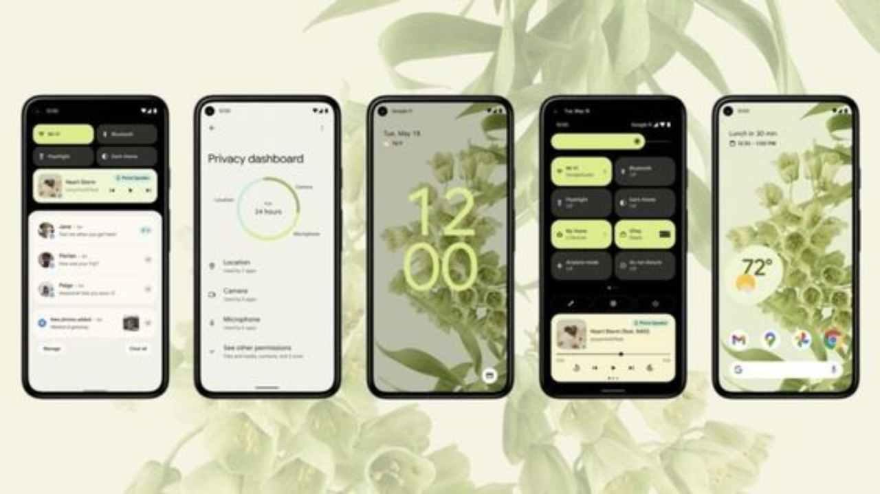 Android 12 sarà presto disponibile ma sarà per pochi