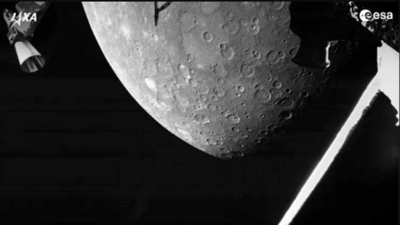 Ecco le foto da BepiColombo, la sonda che sta osservando Mercurio - FOTO